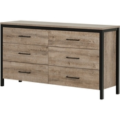 South Shore Munich 6 Drawer Dresser