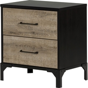South Shore Valet 2 Drawer Nightstand