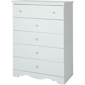 South Shore Crystal 4 Drawer Chest