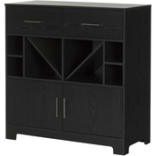 South Shore Vietti Bar Cabinet/Sideboard Buffet