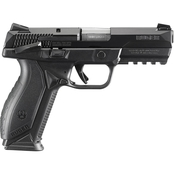 Ruger American 9mm 4.2 in. Barrel 10 Rnd 2 Mag Pistol Black with Thumb Safety