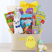 Wine Country Peter Cottontail Easter Basket