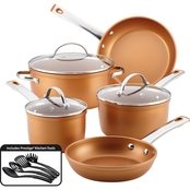 Farberware Colortech Aluminum Nonstick 12 Pc. Set