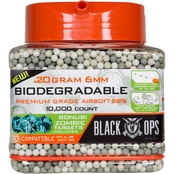 Black Ops Airsoft BBs 6mm 10k .20g