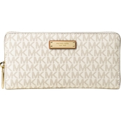 Michael Kors Jet Set Item Zip Around Continental Wallet