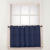 No. 918 Montego 56 x 24 Grommet Tier Curtain Pair
