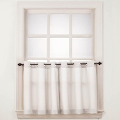No. 918 Montego 56 x 36 Grommet Tier Curtain Pair
