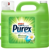 Purex Dirt Lift Action Natural Elements Linen and Lilies Laundry Detergent, 210 oz.