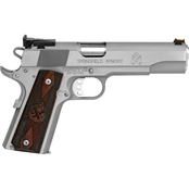 Springfield Range Officer 9MM 5 in. Barrel 9 Rds 2-Mags Pistol Stainless Steel