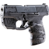 Walther PPS M2 9mm 3.2 in. Barrel 7 Rnd Pistol Black with Crimson Trace Laser