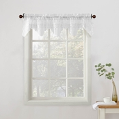 Alison Sheer Lace Kitchen 58 x 14 Curtain Valance