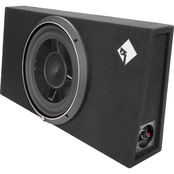 Rockford Fosgate 12 In. Punch P3S1X12 Single Shallow Loaded Enclosure