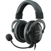 Kingston HyperX Cloud II Gaming Headset for PC/PS4/Mobile, Gun Metal and Black