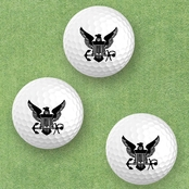 Color Shock Printed Golf Balls, 3 pk.