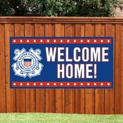 Color Shock 2 x 4 ft. Welcome Home Banner