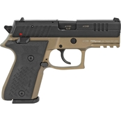 Fime Group Rex Zero 1CP 9MM 3.85 in. Barrel 15 Rds Pistol Black