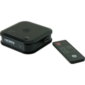 GE 3 Port HDMI Switch with Remote