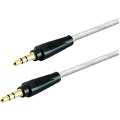 GE 3 Ft. Pro Series Audio Cable 3.5mm Plugs