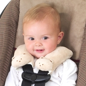 Summer Infant Cushy Straps, Tan Bear