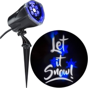 Gemmy Whirl-A-Motion  Light Show Projection+Static Let it Snow