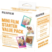 FujiFilm Instax Mini Film Starter Kit 40 Pk.