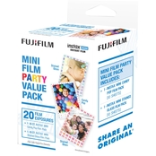 FujiFilm Instax Mini Film Party 20 Pack