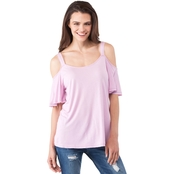 Calvin Klein Jeans Cold Shoulder Blouse