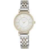 Anne Klein Women's Two Tone Bracelet Watch 30mm  AK/2159SVTT