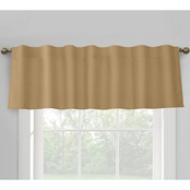 Commonwealth Home Fashions Prescott Lined Dual Header Valance