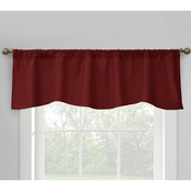 Commonwealth Home Fashions Prescott Lined Rod Pocket Scalloped Valance
