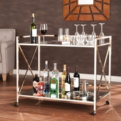 SEI Maxton Bar Cart