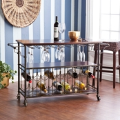 SEI Rolden Wine/Bar Cart