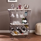 SEI Arcino Wine Storage Table