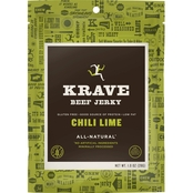 Krave Chili Lime Beef Jerky 1 oz.