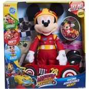 Mickey Mouse and The Roadster Racing Plush Feature