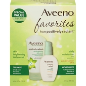 Aveeno Positively Radiant 2 Pc. Daily Scrub and Moisturizer Set
