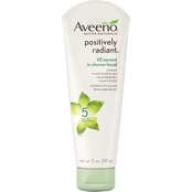 Aveeno Active Naturals Positively Radiant 60 Second In Shower Facial