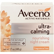Aveeno Ultra-Calming Nourishing Night Cream for Sensitive Skin