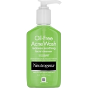 Neutrogena Oil-Free Acne Wash Redness Soothing Cleanser with Salicylic Acid, 6 oz.