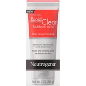Neutrogena Rapid Clear Stubborn Acne Daily Leave-On Mask, 2 oz.