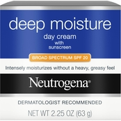 Neutrogena Deep Moisture Day Cream with Sunscreen, For Dry Skin 2.25 oz.