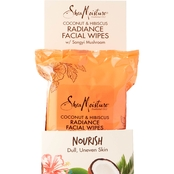 Shea Moisture Coconut and Hibiscus Radiance Cleansing Facial Wipes