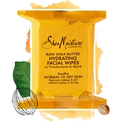 Shea Moisture Raw Shea Butter Hydrating Cleansing Facial Wipes