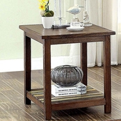 Furniture of America Whitwell End Table