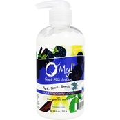 O My! Goat Milk Lotion 8 oz., Black Raspberry Vanilla