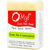 O My! Goat Milk Bar Soap, Green Tea & Lemongrass