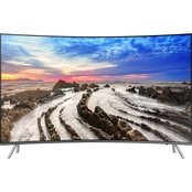 Samsung 55 in. Curved 2160p 4K HDR LED 120Hz Smart TV UN55MU8500