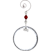 Waterford 2017 Crystal Blank Disk Ornament