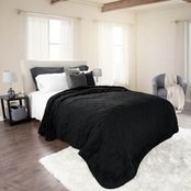 Lavish Home Solid Color Quilt