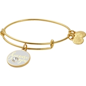 Alex and Ani Color Infusion, Because I Love You Charm Bangle